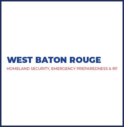 West Baton Rouge Homeland Security Emergency Preparedness 911