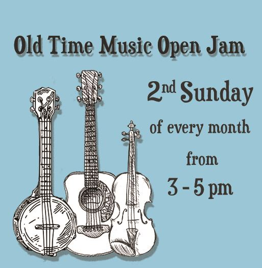Old time music open jam news flash